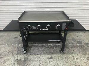 New 36 Outdoor Flat Top Gas Grill Griddle Station Propane Blackstone 1554 8775