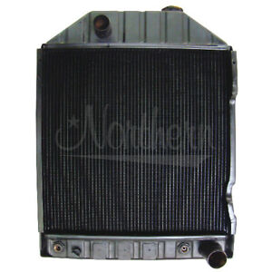Northern 219534 Ford 6810 7610 7810 Tractor Radiator W Cooler E7nn8005bb 15m