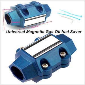 Universal Magnetic Gas Oil Fuel Saver Performance Trucks Car Economizer 15 35