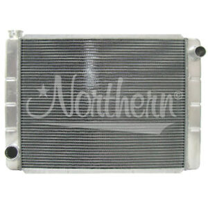 Northern 209672 Universal 2 row Aluminum Radiator Ford Mopar 27 5 X 19 Race Pro