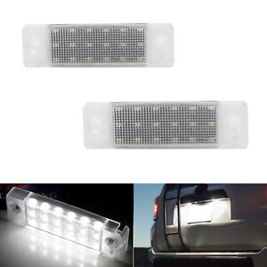 Oe Fit 3w Full White Led License Plate Light Kit For Toyota 4runner