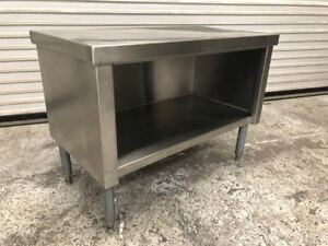 Tabco 36 X 20 Mixer Stand Stainless Steel Cabinet 9296 Work Top Equipment Nsf
