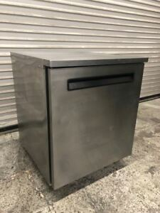 1 Door 27 Nsf Under Counter Refrigerator Delfield 406 Cooler 9300 Restaurant