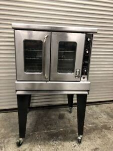 Gas Convection Oven Montague 115 Vectaire Commercial Bakery Nsf 9307 Commercial