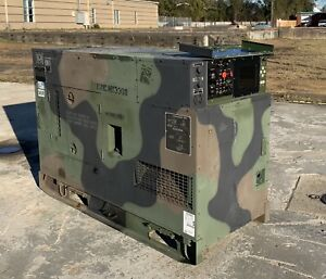2008 Mep 805b Military Diesel Generator 30kw For Home Or Business Back Up Power