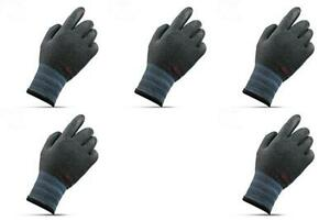 3m Warm Winter Gloves_supergrip Insulated Work Gloves 5 Pairs Pack