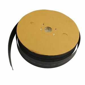 100 Ft 100 Feet Black 1 Polyolefin 2 1 Heat Shrink Tubing Tube Cable