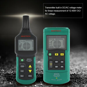 Ms6818 12v 400v Wire Cable Locator Metal Pipe Detector Tester Line Tracker Rh