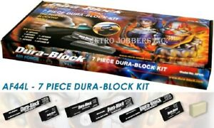 Dura Block Kit 7 Piece Sanding Block Set Af44l With Soap