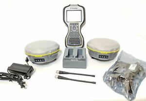 Trimble R8s Base And Rover Uhf Rtk Surveying Kit W Tsc3 R10 R8 3 4