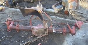 International 806 Front Axle front End