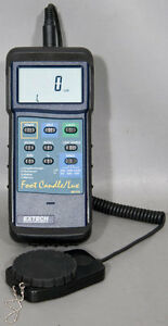Extech 407026 Heavy Duty Foot Candle lux Light Meter
