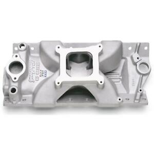 Edelbrock 2975 Victor Jr Small Block Chevy Manifold