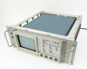 Tektronix Tds 460 Digital Oscilloscope 4 channel 100 Ms s W Rack Adapter