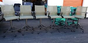 Herman Miller Slightly Used Setu Bar Height Stools 6 Available Very High Or Low