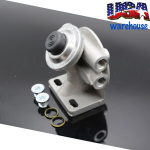 Diesel Fuel Filter Mounting Base Hand Priming Pump 3 8 Npt 1 14 Spin On A13cd