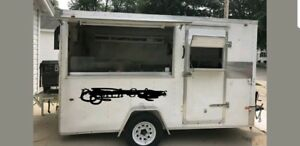 6 X 12 Mobile Food Concession Trailer In Wisconsin