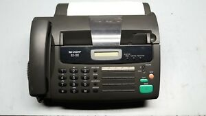 Sharp Ux 106 Mono Fax Machine No Manual Works Well