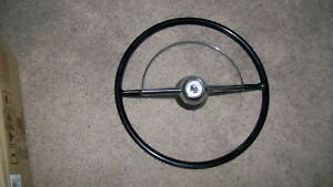 1954 Ford Steering Wheel And Horn Ring