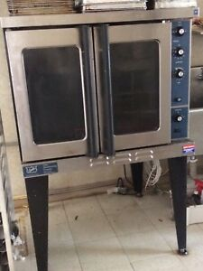 Commercial 54 Full Size Gas Convection Oven Propane Ready incl Natural Gas Fit
