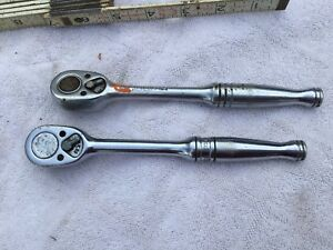 2 Snap On Tools 3 8 Ratchets