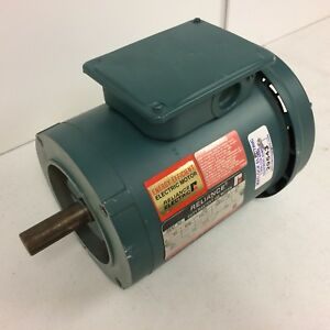 Reliance 1hp Duty Master Ac Motor P14h1448r ys 1725rpm 208 230v 3ph