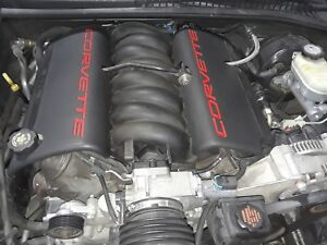 1999 Corvette C5 Complete Engine Ls1 Drop Out 5 7 345hp 79k Aa6377