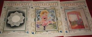 Needlecraft Magazines November 1926 July 1927 February 1927 Three