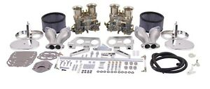 Empi Vw Dual 40 Hpmx Type 1 Carb Kits With Chrome Air Cleaners 47 7317