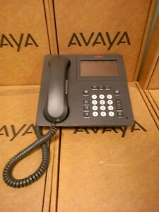 Avaya Fierce41 Ip Phone Charcoal Grey Display Used