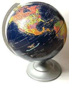 Vintage Replogle 12 Inch Midnight Globe