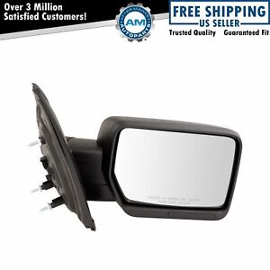 Mirror Power Textured Black Passenger Side Right Rh For 09 14 Ford F150 New