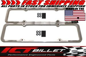 Sbc Small Block Chevy 3 8 Billet Valve Cover Spacer Riser 350 551661 3