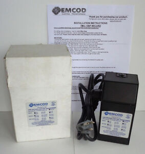Emcod Low Voltage Indoor Lighting Transformer 120v Tmc 150p With Power Cord