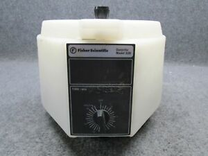 Fisher Scientific Centrific Model 228 Tabletop Centrifuge tested Working