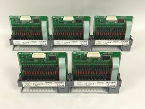 Used Lot Of 5 Allen Bradley 1746 oa16 d Slc 500 Output Modules