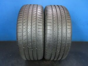 2 Used Hankook Kinergy Gt 225 50 17 8 9 32 8 9 32 Tread 2447c
