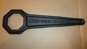 Teens 20s Hayes 2 3 4 Wire Wheel Hub Cap Wrench Tool Hupmobile Nash Ww4