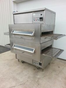 Middleby Marshall Ps360 Double Deck Conveyor Pizza Oven belt Width 32