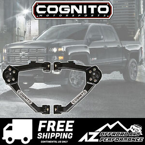 Cognito Ball Joint Boxed Upper Control Arm Kit 14 18 Gm Silverado Sierra 1500