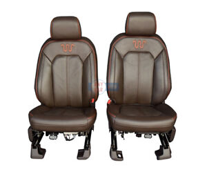 2017 2018 Ford F250 F350 King Ranch Front Row Bucket Seats