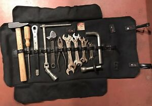 Tool Kit Maserati Mexico Mistral Complete Lario Wrenches Old Car Original Rare
