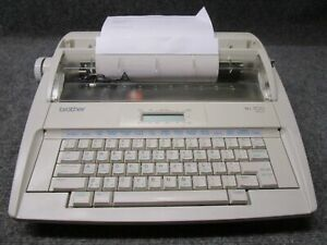 Brother Ml500 Electric Daisy Wheel Word Processing Typewriter tested Working