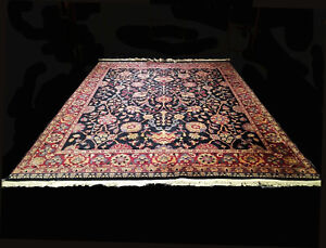 9x12 1940 S Gorgeous Authentic Hand Knotted Antique Wool Meshaadd Oriental Rug