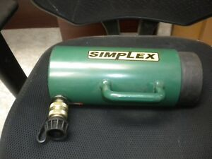 Simplex Rc306 30 Ton Single acting Spring Return Hollow Hole Cly
