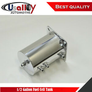 1 2 Gallon Aluminum Fabricated Fuel Cell Tank 2l 8 An Fittings