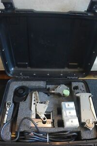 Mcelroy Model 1lc Fusion Welder Set Facer Heater Assemble Machine Usedfew Times2