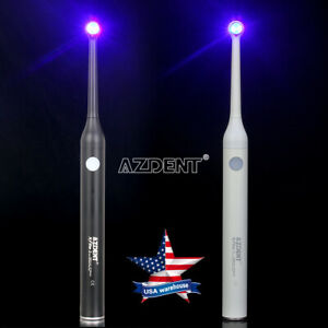 Us Woodpecker Iled Style Dental Wireless Led Curing Light Lamp Cure 2300mw X2