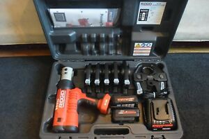 Ridgid Brand Propress Crimper Set Model Rp340 6 Jaws 1 2 Through 2 Super Clean