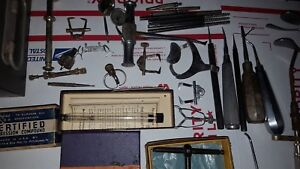 Antique Vintage Surgical Instruments From Dentist Collection In Texas